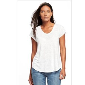 5aa848fefd476 Old Navy Tops - 🆑Old Navy Relaxed Linen-Blend Tee (Tall)