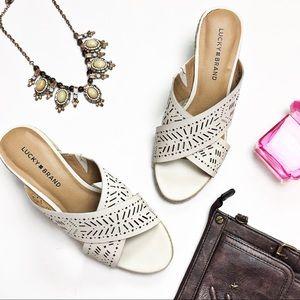 Lucky Brand Keela Wedge Sandals