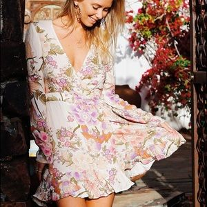 Spell and the Gypsy Blue Skies Wrap Dress