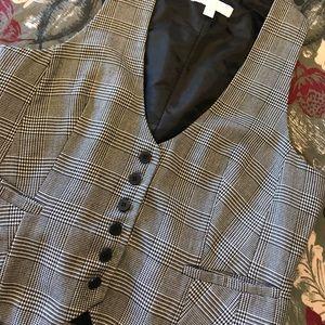 Ladies Houndstooth Vest