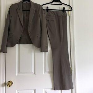 Dark Tan Express Suit