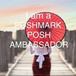 I'm a Poshmark Ambassador