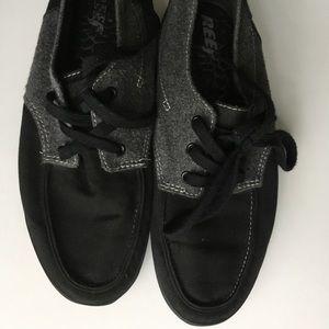 Reef Deck Shoes - Black/grey