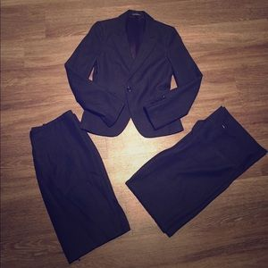 Suit (jacket, pants and skirt) in GREAT condition