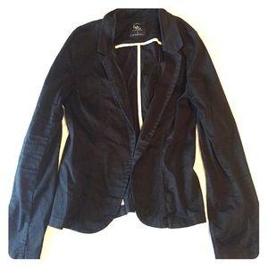 black cotton on blazer