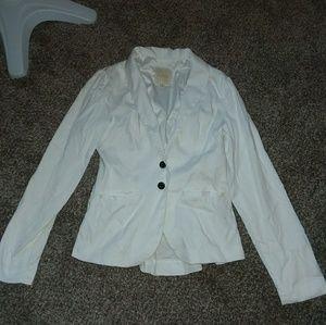 White Modcloth Jacket