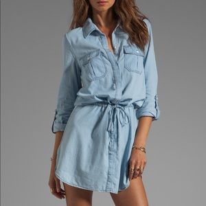 Sanctuary Chambray Denim Dress Tunic