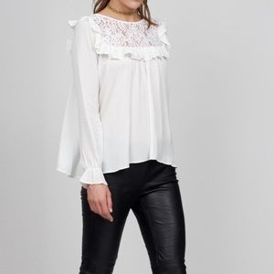 For love and Lemons Victorian Blouse
