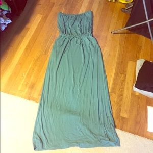 JCREW STRAPLESS MAXI DRESS