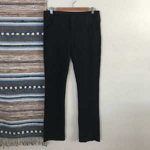 Black Alice+Olivia super soft office pants size 8