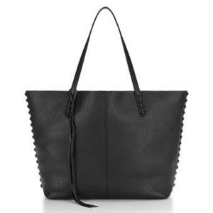 Rebecca Minkoff Black Studded Tote Bag
