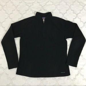 Patagonia black fleece large synchilla Zipper