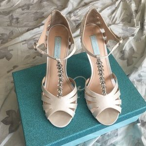 Blue by Betsey Johnson Bridal Wedding Heels