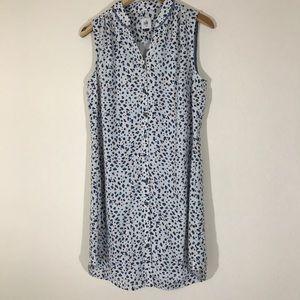 Cabi Camilla shirtdress tunic leopard