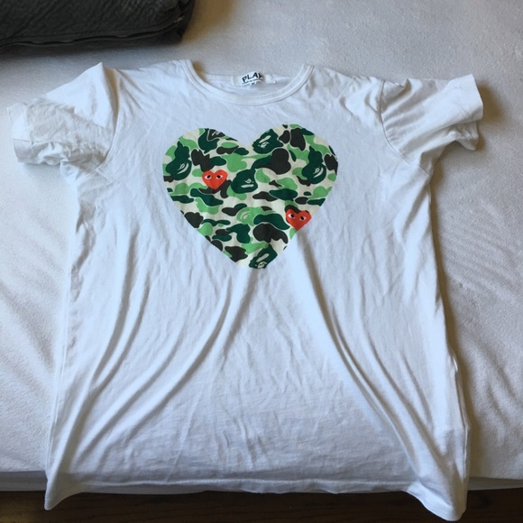 74d629b4b Comme des Garcons Shirts | Cdg X Bape Shirt | Poshmark