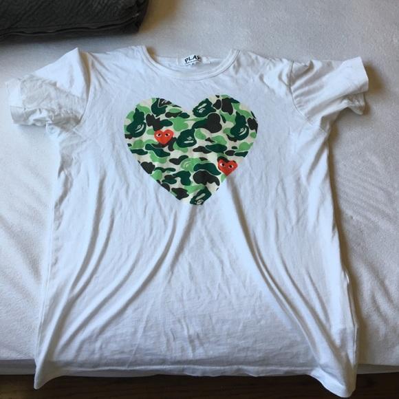 aa4fac9b Comme des Garcons Shirts | Cdg X Bape Shirt | Poshmark