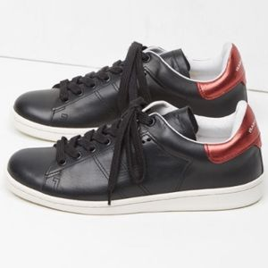 ISABEL MARANT Etoile Bart Leather Sneakers 37