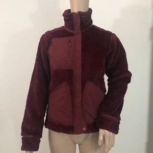 Patagonia fleece Reversible red synchilla XS