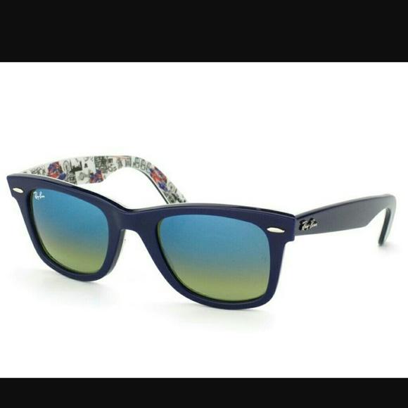 a11a750ba11 Ray-Ban Wayfarer London Print Sunglasses. M 59e27f07713fdee88303184e