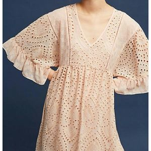 Eyelet dress by Akemi Kim
