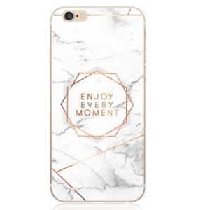 Accessories - ⚡️SALE⚡️MARBLE AND ROSE GOLD PHONE CASE
