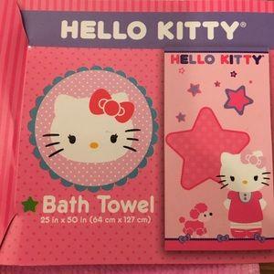 Hello Kitty Bath Towel 🐩