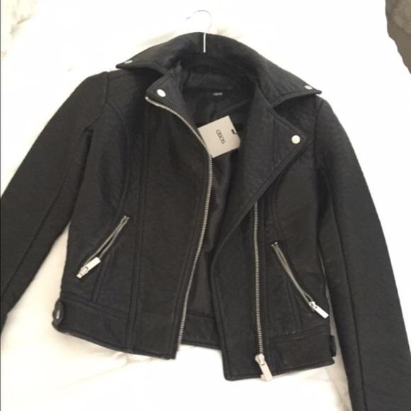 ASOS Jackets & Blazers - ASOS vegan leather jacket!