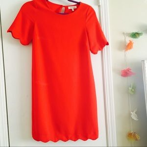 XS Monteau Red Dress