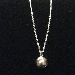 Jewelry - Silver Ball Choker Necklace