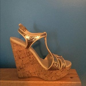 "Gold 5"" Wedges"
