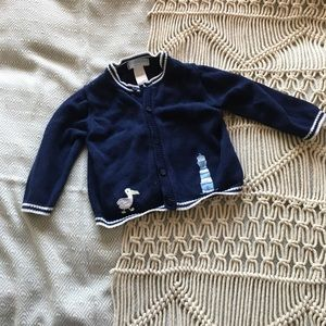 Janie and jack baby girls sweater