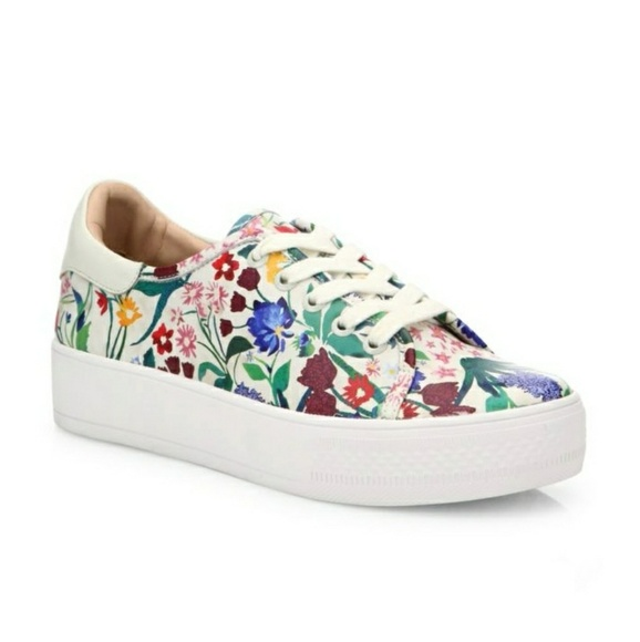 db908c86496 Alice + Olivia Shoes - ALICE + OLIVIA Pempton Floral Platform Sneakers