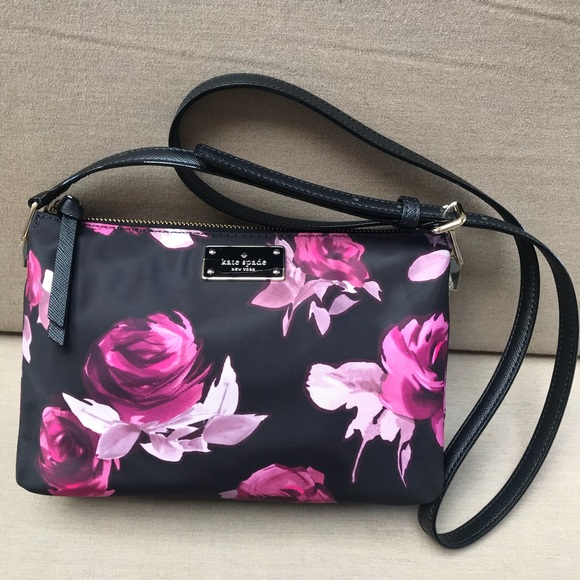 a06a86ac8886f Today only🎉Kate Spade floral crossbody