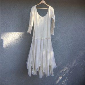 Dresses & Skirts - Vintage Cream Wedding Dress