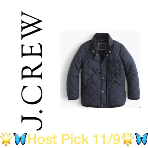 00b50902a428 J. Crew Other - Boys  Sussex quilted jacket