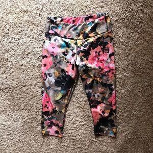 KOS USA Capri Running workout pants