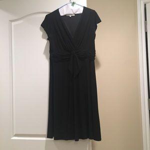 Little Black Dress, Faux wrap style. Size 16