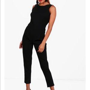Tailored jumpsuit (black) - never worn