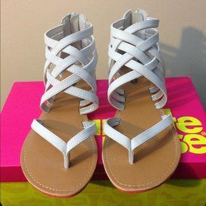 Strappy Thong Sandal!! NWB