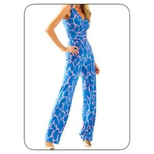 Lilly Pulitzer v-Neck Jumpsuit