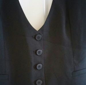 Black Vest from NY&CO Suiting Collection