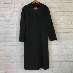 Cole Haan City trench coat wool cashmere Small