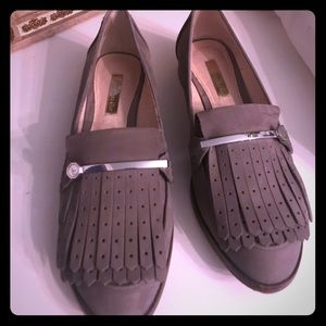Vince Camouto/ Louise et Cie grey loafers