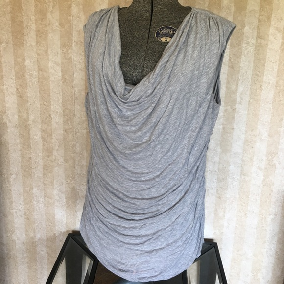 Maurices Tops - Draped neck sleeveless top