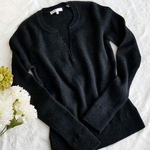 VINCE V-Neck&Crewneck 100% Cashmere Sweater