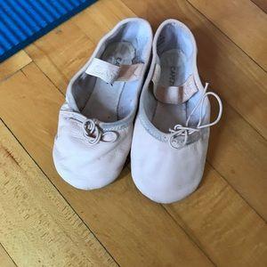 Capezio Toddler Ballet Shoes Size 9W