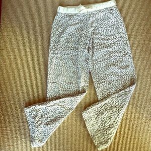 Cheetah Print Flannel Lounge/PJ Pants