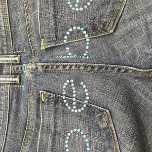 Bebe jeans in great used condition