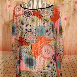 Other - Multi Color Swimsuit Cover Up
