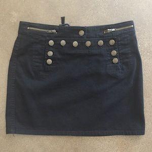 Black Betsey Johnson Mini Skirt